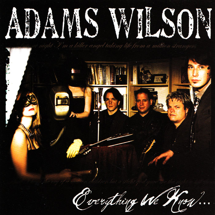 Official Adams Wilson Website: Adams Wilson Lyrics and