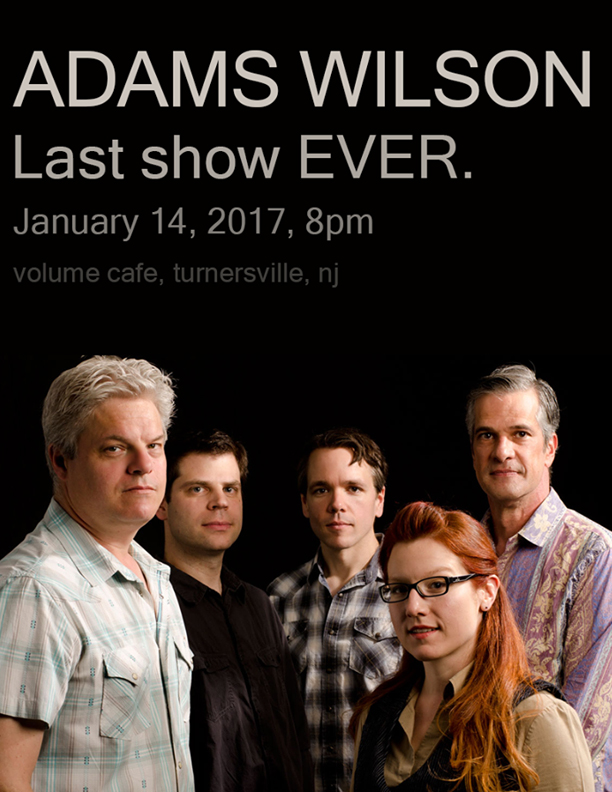 adams wilson at volume cafe in turnersville, nj, january 14, 2017