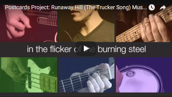 runaway hill music video
