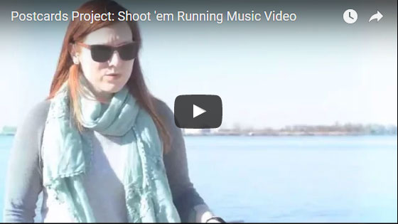 shoot em running music video