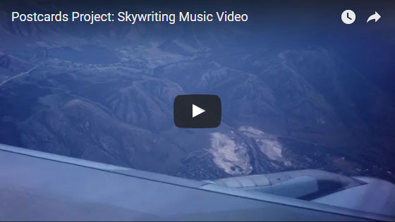 skywriting music video
